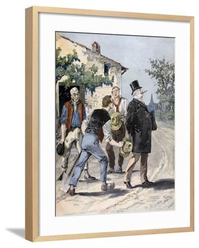 After the Election, 1893-Henri Meyer-Framed Art Print