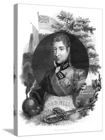 Lieutenant General Lord Hill, 1816-I Brown-Stretched Canvas Print