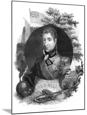 Lieutenant General Lord Hill, 1816-I Brown-Mounted Giclee Print