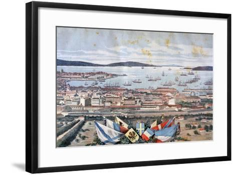 The Port of Toulon, 1893-Henri Meyer-Framed Art Print