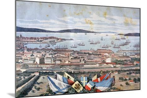 The Port of Toulon, 1893-Henri Meyer-Mounted Giclee Print