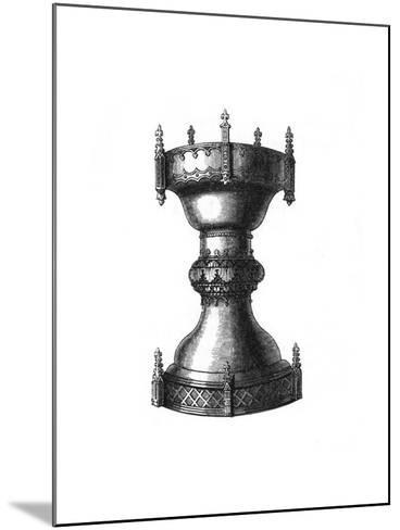 Religious or Household Vessel, 15th Century-Henry Shaw-Mounted Giclee Print