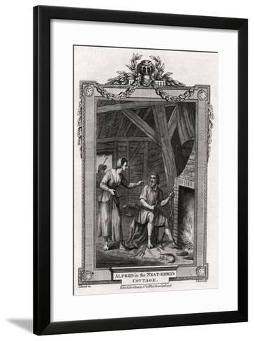 Alfred in the Neat-Herd's Cottage, 1776-I Hall-Framed Art Print