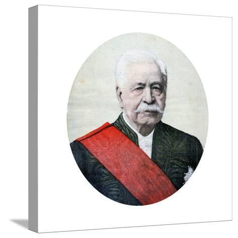 Ferdinand De Lesseps, French Diplomat and Entrepreneur, 1894-Henri Meyer-Stretched Canvas Print