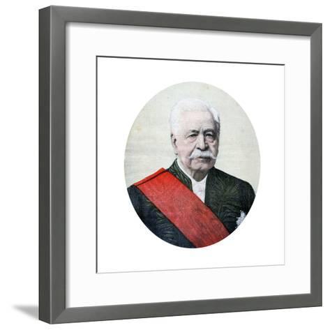 Ferdinand De Lesseps, French Diplomat and Entrepreneur, 1894-Henri Meyer-Framed Art Print