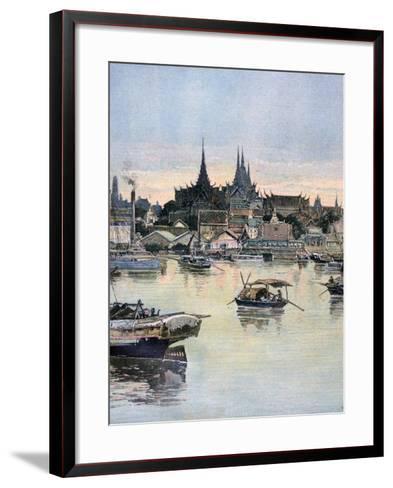 View of Bangkok, 1893-Henri Meyer-Framed Art Print