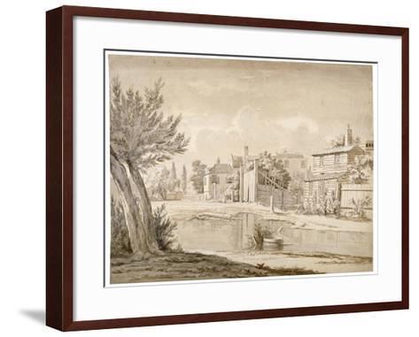 Cuper's Bridge, Lambeth, London, 1807-Henry de Cort-Framed Art Print