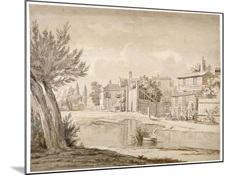 Cuper's Bridge, Lambeth, London, 1807-Henry de Cort-Mounted Giclee Print