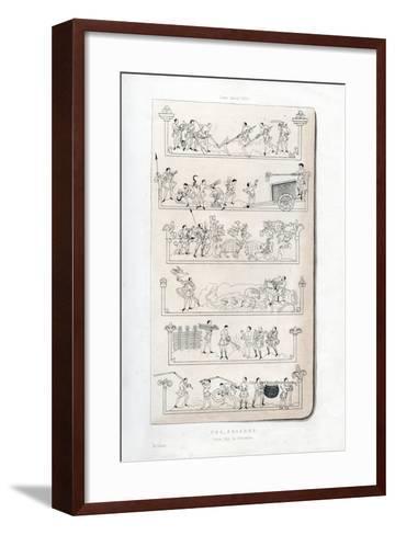 The Seasons, C1050-Henry Shaw-Framed Art Print