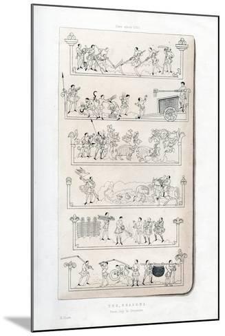 The Seasons, C1050-Henry Shaw-Mounted Giclee Print