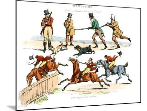 Symptoms of Being Amused, 1822-Henry Thomas Alken-Mounted Giclee Print