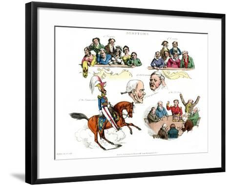 Symptoms of Being Amused, 1822-Henry Thomas Alken-Framed Art Print
