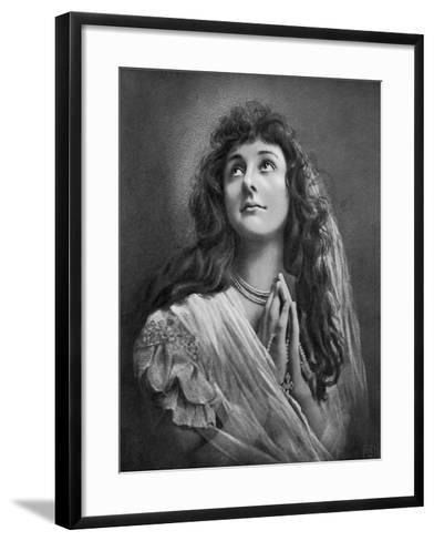 Devotion, 1902-1903-HO Klein-Framed Art Print