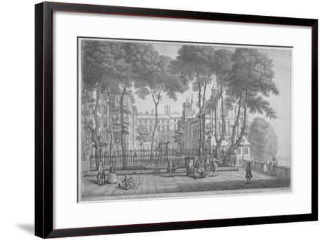 View of Fountain Court, Middle Temple, City of London, 1752-Henry Fletcher-Framed Art Print