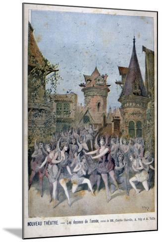 Les Dessous De L'Annee, Revue at the Nouveau Theatre, 1896-Henri Meyer-Mounted Giclee Print