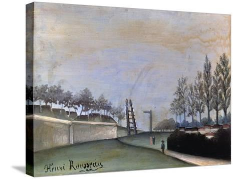 View of Vanves, 1909-Henri Rousseau-Stretched Canvas Print