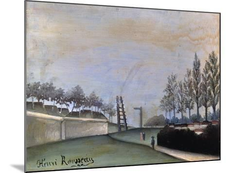 View of Vanves, 1909-Henri Rousseau-Mounted Giclee Print