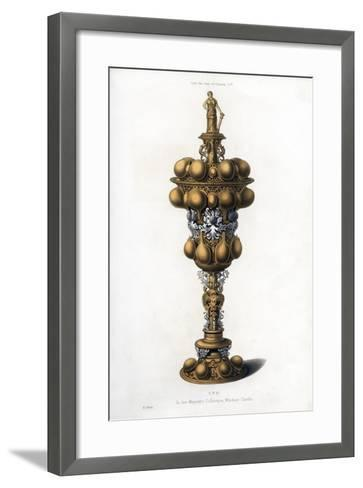 Cup, Early 17th Century-Henry Shaw-Framed Art Print