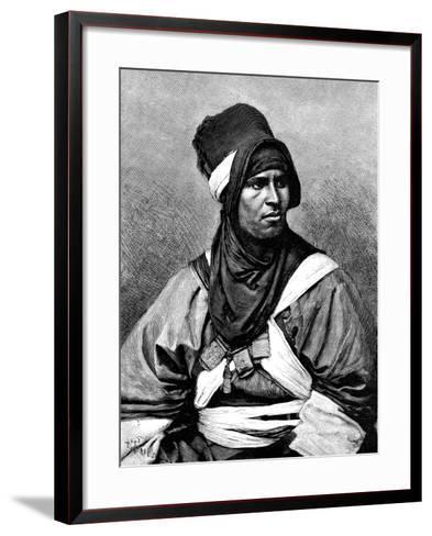 A Targui Man, 1895-Henri Thiriat-Framed Art Print