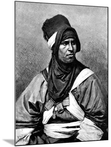 A Targui Man, 1895-Henri Thiriat-Mounted Giclee Print