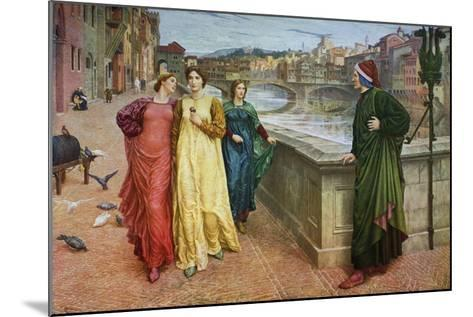Dante and Beatrice, 1883-Henry Holiday-Mounted Giclee Print