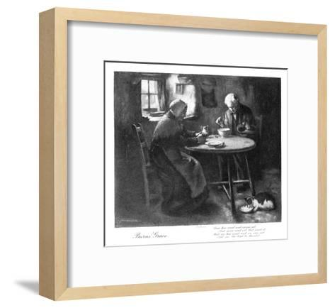 Burns' Grace, Late 19th Century-Henry John Dobson-Framed Art Print