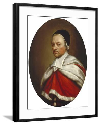 Sir William Dolben, Recorder of London 1676, C1676-Henry Tilson-Framed Art Print
