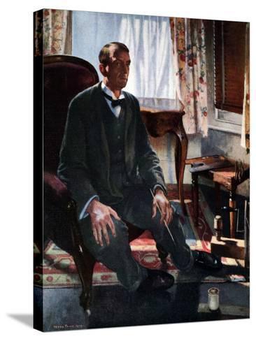 Self Portrait, 1909-Henry Tonks-Stretched Canvas Print