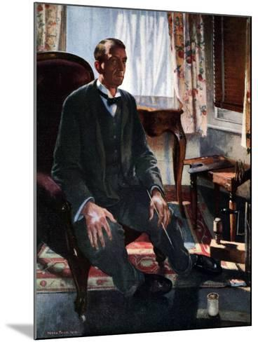 Self Portrait, 1909-Henry Tonks-Mounted Giclee Print