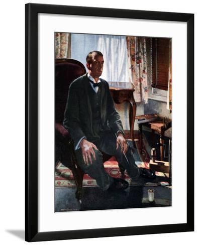 Self Portrait, 1909-Henry Tonks-Framed Art Print