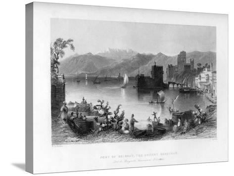 Beirout, the Ancient Berothah, Syria, 1841-J Appleton-Stretched Canvas Print