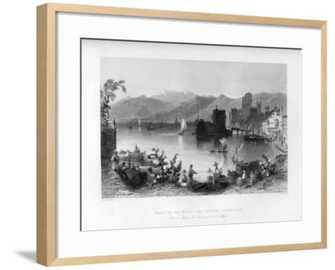 Beirout, the Ancient Berothah, Syria, 1841-J Appleton-Framed Art Print