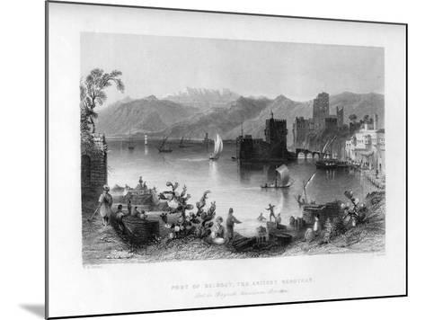 Beirout, the Ancient Berothah, Syria, 1841-J Appleton-Mounted Giclee Print