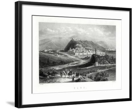 Kars, Turkey, 19th Century-J Godfrey-Framed Art Print