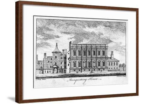 Banqueting House, Whitehall Palace, Westminster, London-J Green-Framed Art Print