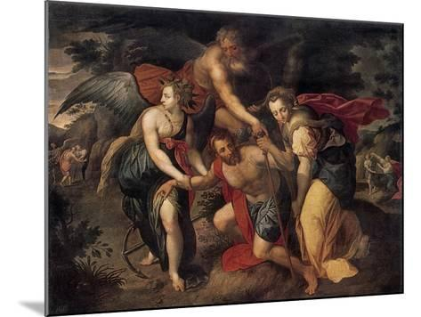 The Three Ages of Man, Allegory, Late 16th Century-Jacob de Backer-Mounted Giclee Print