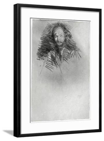 Swinburne, 19th Century-James Abbott McNeill Whistler-Framed Art Print