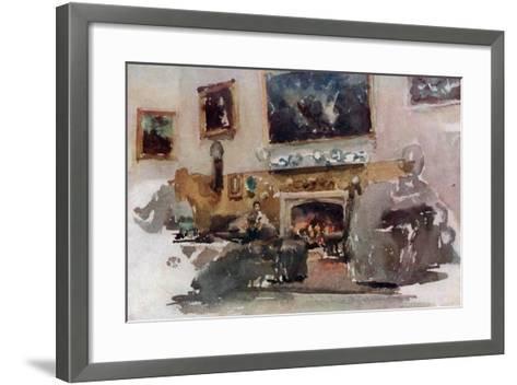 Moreby Hall, C1883-James Abbott McNeill Whistler-Framed Art Print