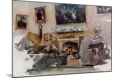 Moreby Hall, C1883-James Abbott McNeill Whistler-Mounted Giclee Print