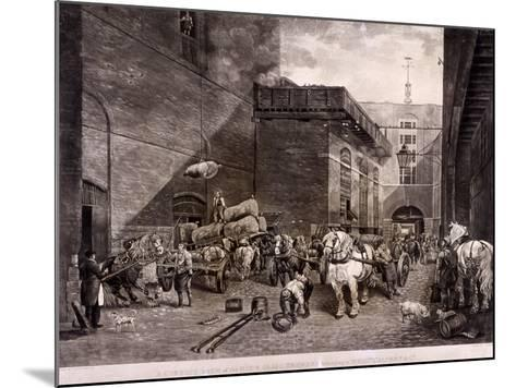 The Hour Glass Brewery on Upper Thames Street, London, 1821-J Bromley-Mounted Giclee Print