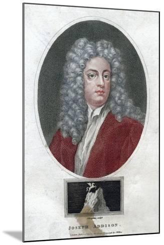 Joseph Addison, English Politician and Writer, 1796-J Chapman-Mounted Giclee Print