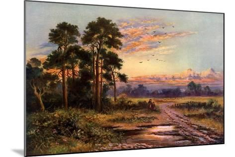 Autumn Sunset, 1911-1912-J Maurice-Mounted Giclee Print