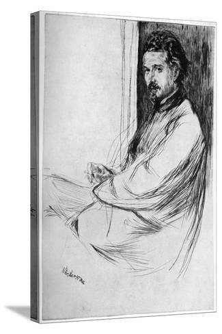 Axenfeld, 1860-James Abbott McNeill Whistler-Stretched Canvas Print