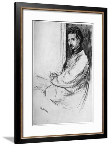 Axenfeld, 1860-James Abbott McNeill Whistler-Framed Art Print