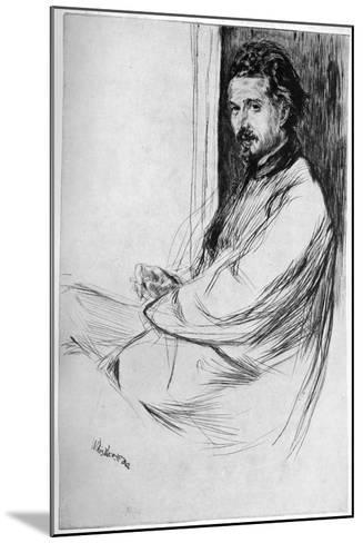 Axenfeld, 1860-James Abbott McNeill Whistler-Mounted Giclee Print