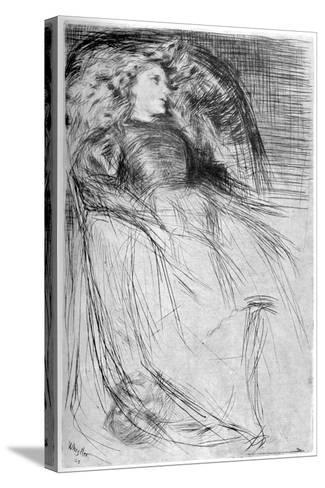 Weary, 1863-James Abbott McNeill Whistler-Stretched Canvas Print