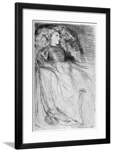 Weary, 1863-James Abbott McNeill Whistler-Framed Art Print