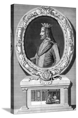 Henry IV, King of England-J Smith-Stretched Canvas Print