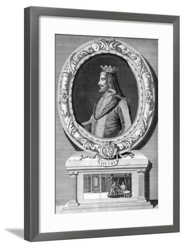 Henry IV, King of England-J Smith-Framed Art Print