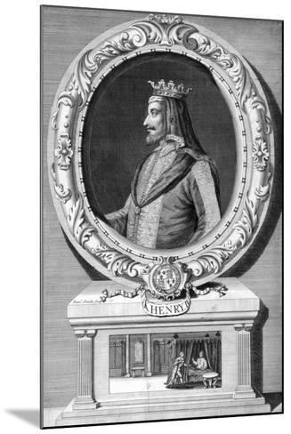 Henry IV, King of England-J Smith-Mounted Giclee Print